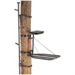 guide gear climbing stick and tree stand combo 160847 hang on tree stands at sportsman s guide