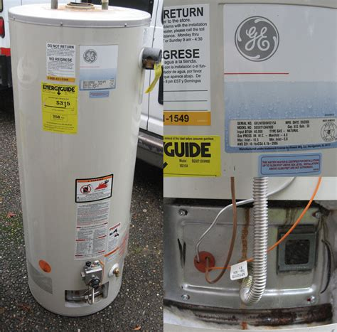 I'm Replacing Ge Gas Water Heaters That Have Failed Why