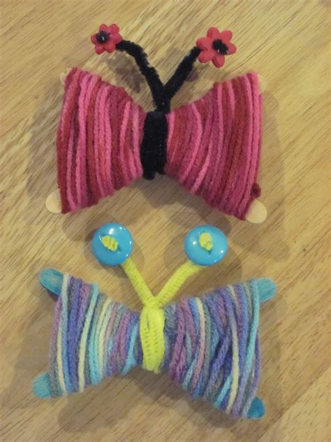 bryan lie educational learning toys and arts 330 | crafts for kids Yarn Butterflies 028