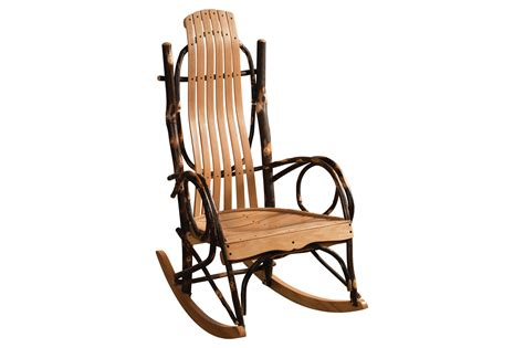 hickory rocking chair available in standard oversized