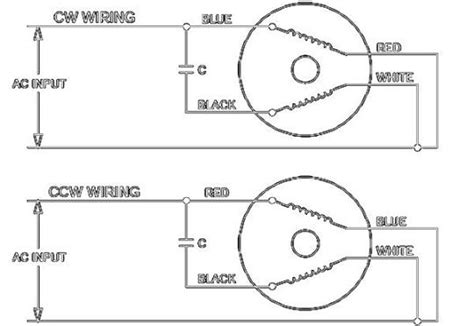 Reversible Single Phase Wire Motor