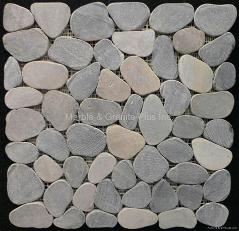 sliced pebble mosaic tile china manufacturer products