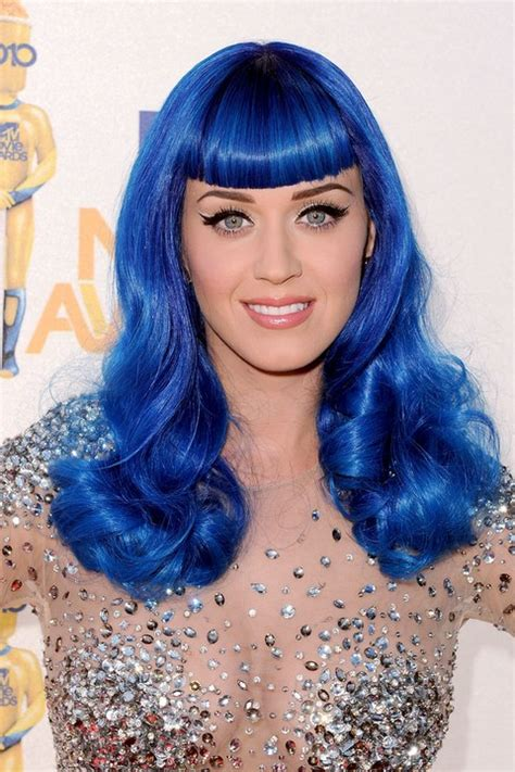 Katy Perrys Rainbow Of Hair Colors Through The Years