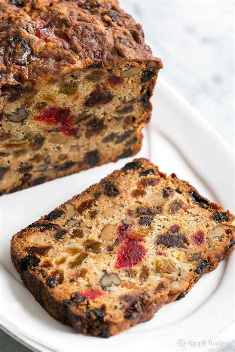 fruit cake recipe our favorite holiday fruitcake recipe simplyrecipes com