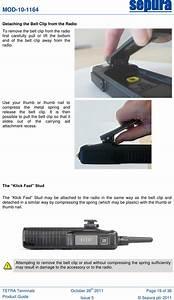 Sepura Plc Stp8280 Portable Tetra Radio User Manual Tetra