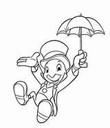 Coloring Cricket Jiminy Disney Pages Pinocchio Character Cartoon Sheets Drawings Activity Easy Mewarnai Coloringpagesfortoddlers Tattoos Terbaik Gambar Characters Buku Printables sketch template