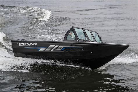 Fishing Boats For Sale Duluth Mn by 2017 New Crestliner 2050 Commander Elite Aluminum Fishing