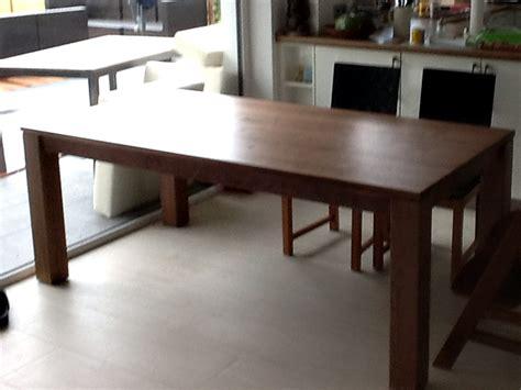 esstisch 4 stühle calama massiver esstisch kopfkulissenauszug vollholztisch aus deutschland