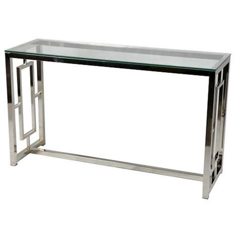 Chrome And Glass Geometric Console Table. Diy Desk Home Depot. Fire Tables For Sale. Industrial Design Desk. Cabinet With Small Drawers. Drawer And Shelf Liner. Mirror Living Room Tables. Standing Work Station Desk. Pool Table Price