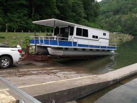 Small Houseboats For Sale In Arkansas by 1974 35 Foot Crest Line Pontoon Houseboat Houseboat For