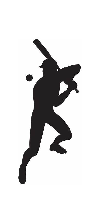 Baseball Silhouette Transparent Player Clip Clipart Background