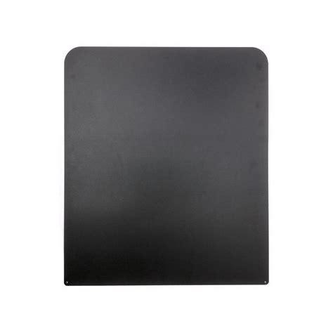 hittebestendige plaat achter kachel vloerplaat rvs voor kachel 600x700mm zwart gepoedercoate