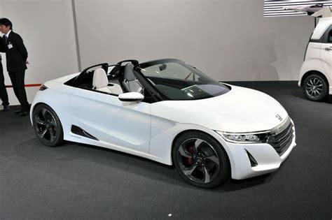 ホンダの軽スポーツカーBEATの後継車となる「S660」のコンセプトカーをフォトレビュー - GIGAZINE
