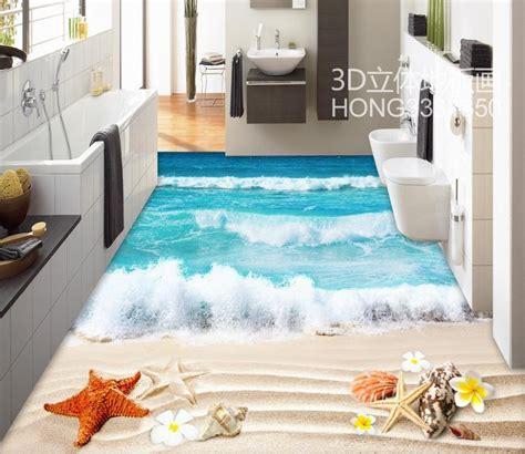 buy floor wallpaper   bathrooms