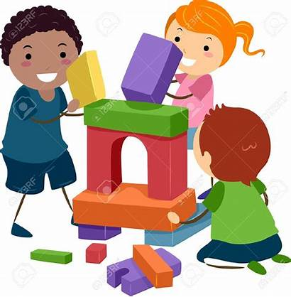 Playing Clipart Toys Children Blocks Clipartmag