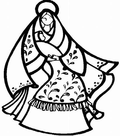 Nativity Christmas Coloring Pages