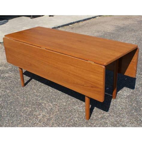 danish modern drop leaf table danish mid century modern drop leaf dining table for sale