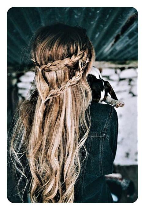 boho hairstyles  curly  straight hair  fashionre