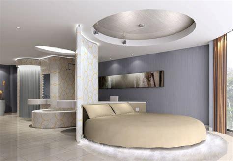ideen wand weißes schlafzimmer runde betten f 252 r die schlafzimmer einrichtung 36 ideen