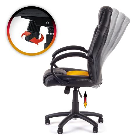 chaise ordinateur chaise de bureau siége de bureau fauteuil racing gaming