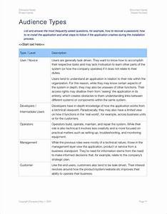 Audience Analysis Template  Apple Iwork Pages And Numbers