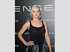 Black See Through Shirt JenniferLawrence