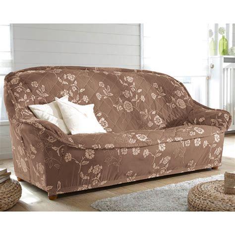 housse de canapé avec accoudoir en bois housses canape 3 places maison design wiblia com