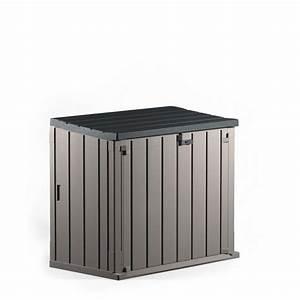 Coffre De Rangement Exterieur Gifi : coffre de rangement fermeture par verrou 850 l coffre ~ Melissatoandfro.com Idées de Décoration