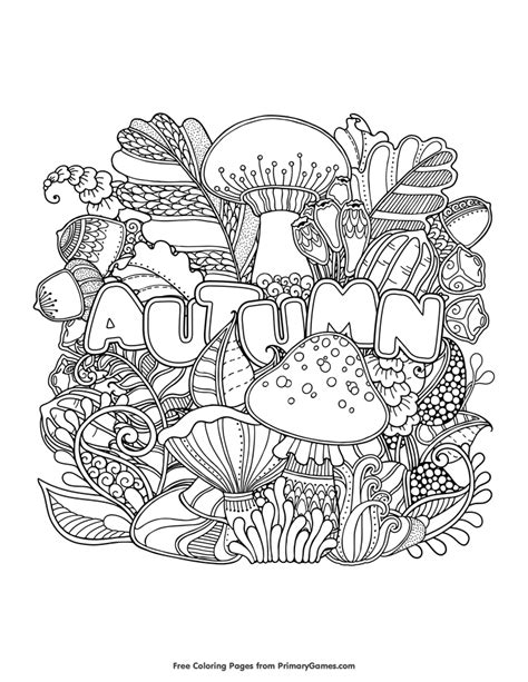 coloring pages fall fall coloring pages ebook autumn fall fall coloring