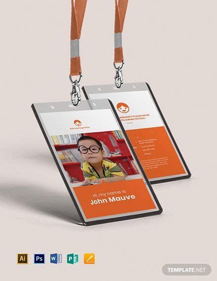 daycare identity card business card design inspiration