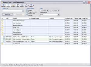 Employee Sheet Template Auto Timesheet Tracking Software Usb Pen Drive Apps