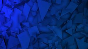 Motion, Dark, Blue, Triangles, Shapes, Abstract, Geometric