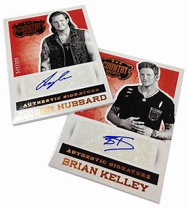 Panini America Finally Gives Country Music a Trading Card ...