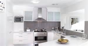 construindo minha casa clean decora 231 227 o de cozinhas brancas modernas ilha e americana
