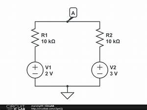 Beginner Kirchoff Voltage Law In Dc Circuit