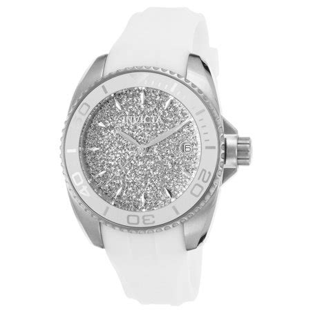 invicta invicta  womens angel white silicone