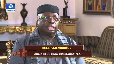 General insurance and special risks 3. View From The Top Hosts Chairman AIICO Insurance PLC; Fajemirokun Pt 1 - YouTube