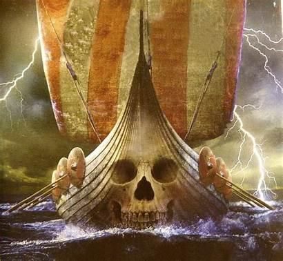 Viking Ship Roulette Forwallpaper War Wallpapersafari Skull