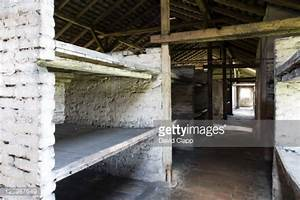 Interior Of Stone Barracks Showing Cramped Bed Space At ...