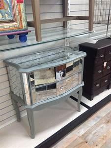Mirrored console/cabinet
