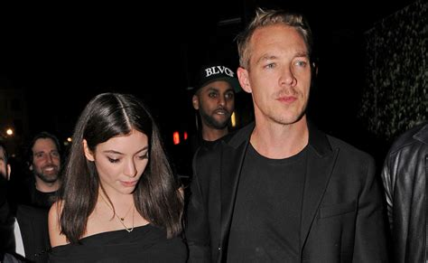 lorde diplo hold hands  brit awards
