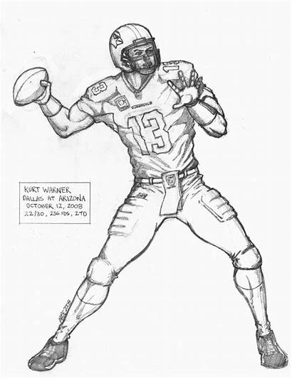 Coloring Pages Nfl Player Football Players Printable