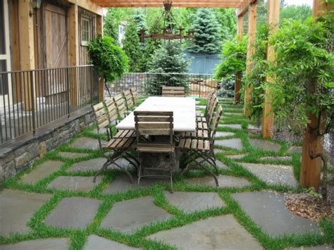 Flagstone Patio Designs by Flagstone Patio Benefits Cost Ideas Landscaping Network