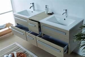 Salle de bain meuble riviera2 beige meuble salle de for Meuble de salle de bain beige