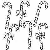 Coloring Candy Cane Pages Printable Christmas Canes Easy Children Six Bigactivities Bow Moana Disney Merry Everfreecoloring sketch template
