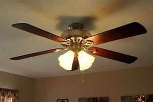 Ceiling fans with neon lights : Hunter ceiling fan feel the home