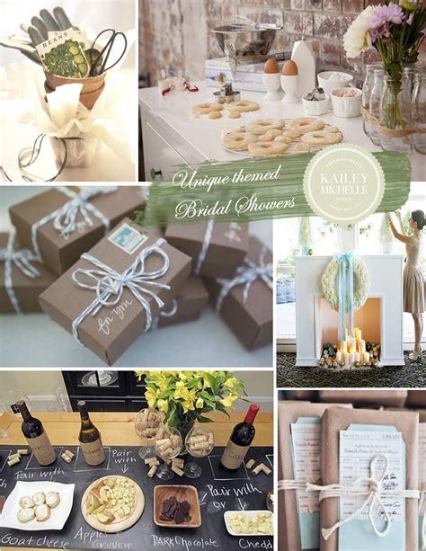 bridal shower ideas bridal shower ideas 6 unique themes