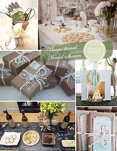 Bridal shower ideas 6 unique themes for Wedding showers themes
