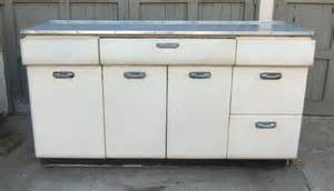 1940 s metal kitchen cabinet w chrome handles in mid city