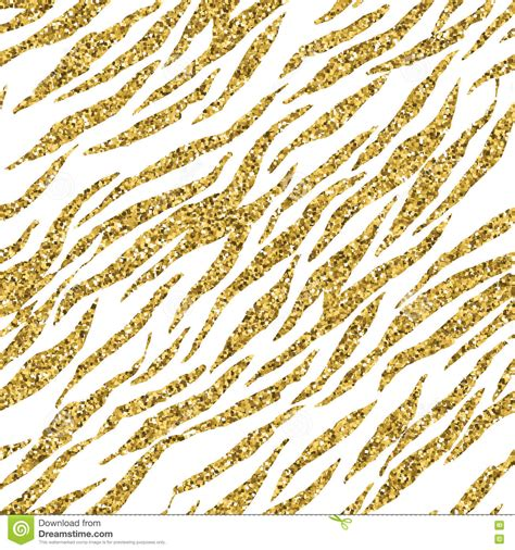 Gold Animal Print Wallpaper - abstract gold glitter animal print white seamless pattern